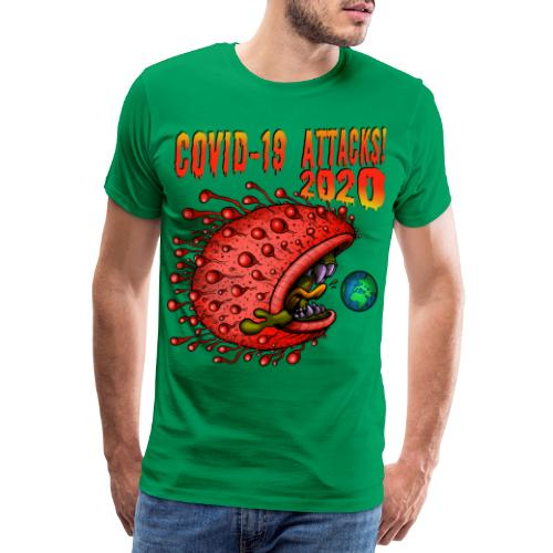 Covid-19 Attacks! 2020 - Männer Premium T-Shirt
