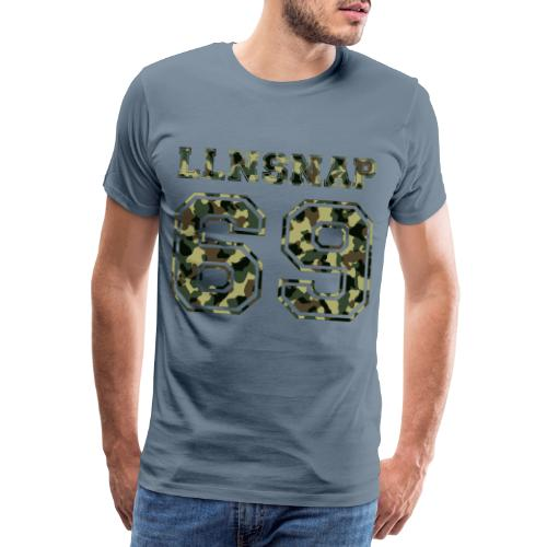 LLNsnap 69 (camo) - T-shirt Premium Homme