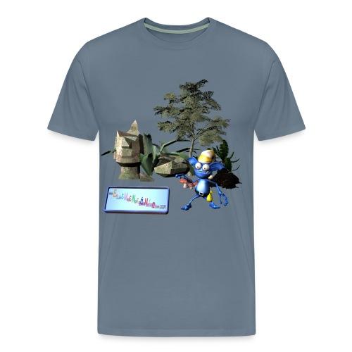 unwichtiger Wichtel - Männer Premium T-Shirt