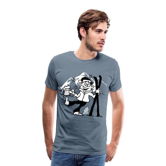 Apres-ski - Mannen Premium T-shirt