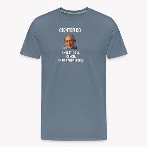 Cientefico twitter - Camiseta premium hombre