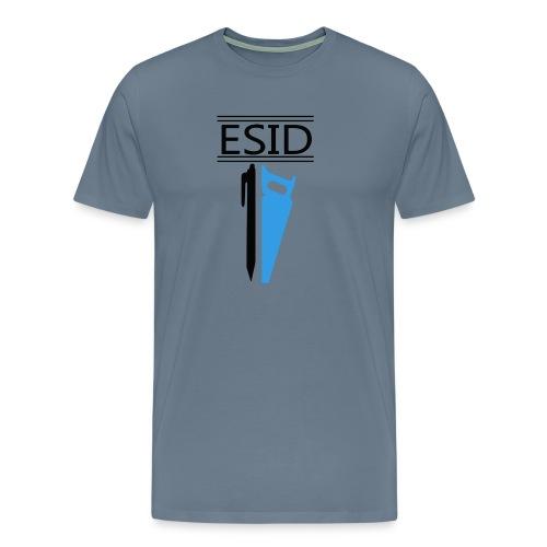 ESID Zwart-blauw - Mannen Premium T-shirt