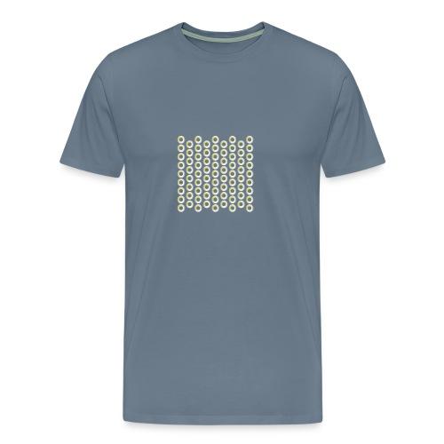 linea pattern circle - Männer Premium T-Shirt