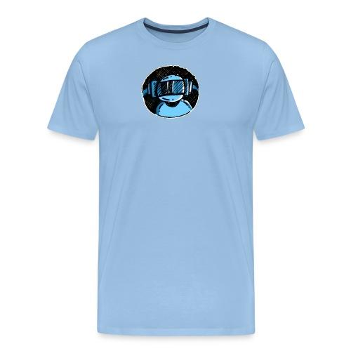 Machine Boy Blue - Men's Premium T-Shirt