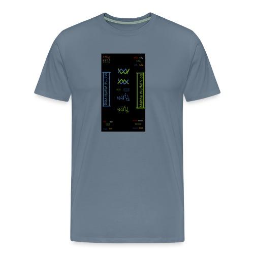 Malthe Würfel - Herre premium T-shirt