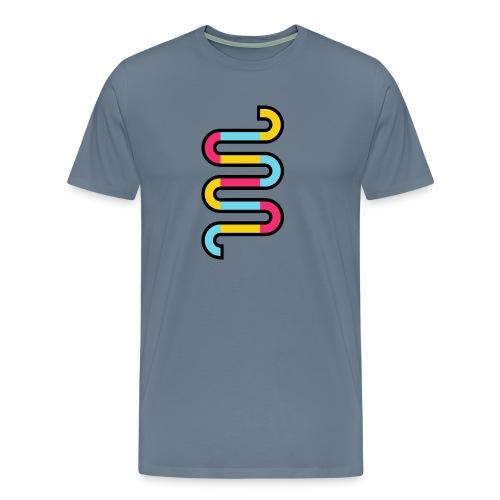 Die DNA deines Unternehmens - Männer Premium T-Shirt