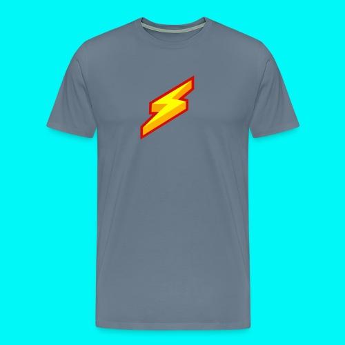 Lightning Shirt - Mannen Premium T-shirt