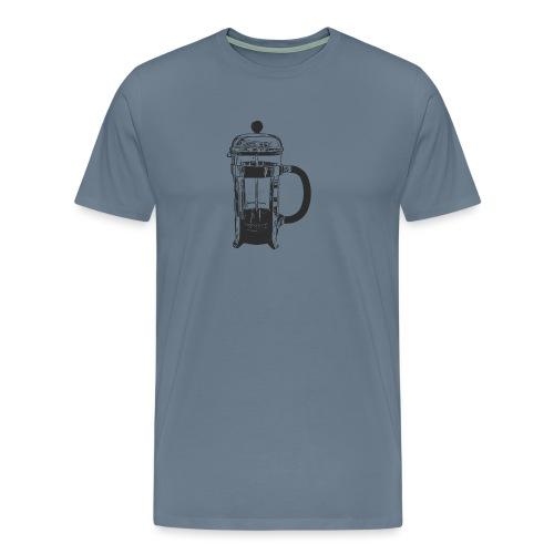 cafetière - Mannen Premium T-shirt