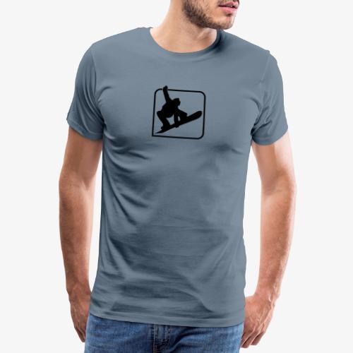 Snowboard Freestyle - Männer Premium T-Shirt