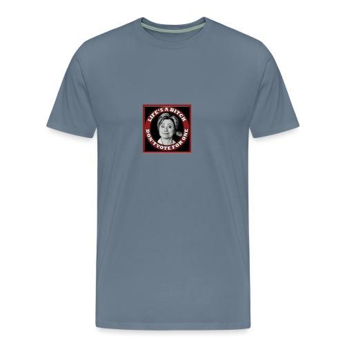 Don't Vote Hilary - Men's Premium T-Shirt