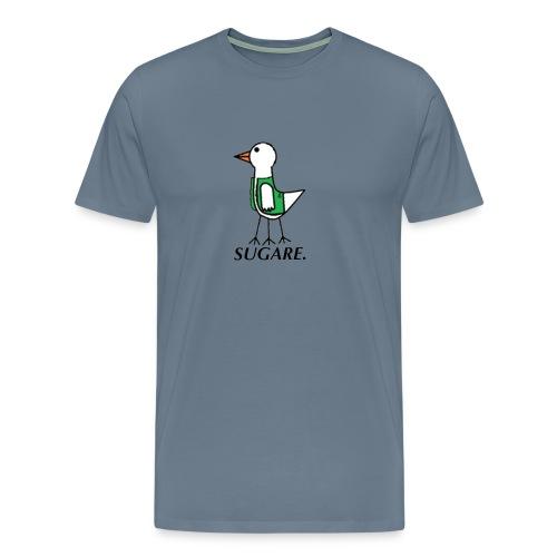 SUGARE. lippis - Miesten premium t-paita