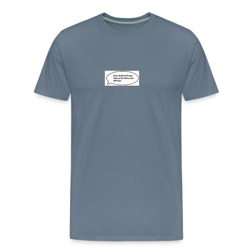 deine-mutter-witze-0 - Men's Premium T-Shirt
