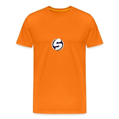SilkyFX logo - Mannen Premium T-shirt