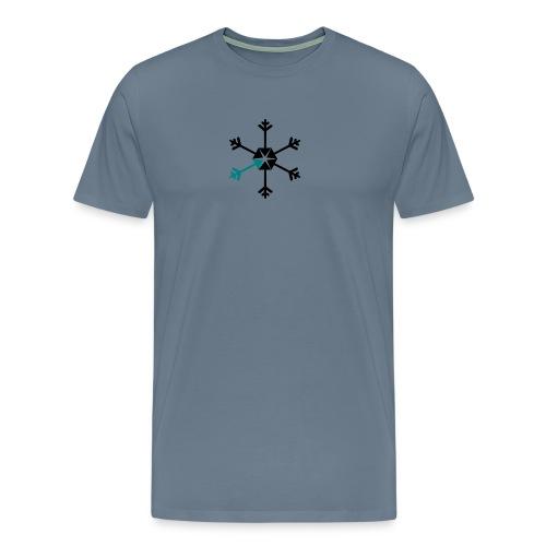 Vinterserien - Premium-T-shirt herr