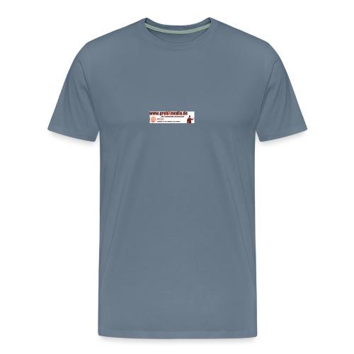 Anzeigegrebxmedia485schmalneu - Männer Premium T-Shirt