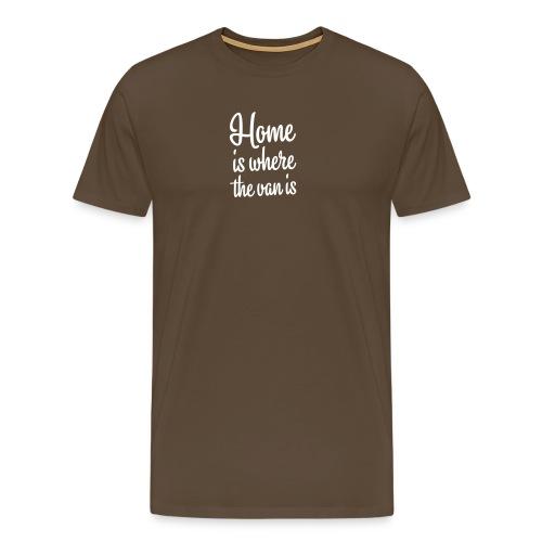camperhome01b - Premium T-skjorte for menn