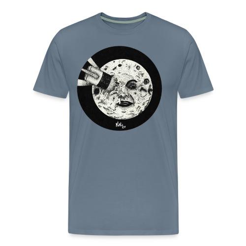 Viaje a la luna (Tributo a George Méliès) - Camiseta premium hombre