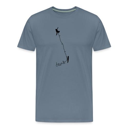 Climbing 1 - Männer Premium T-Shirt
