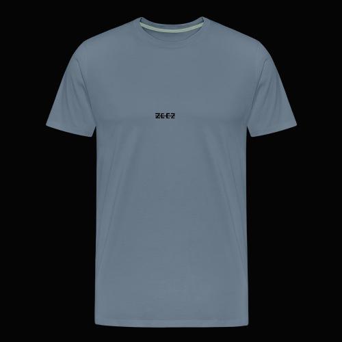 zeez poilu noir sur coté - T-shirt Premium Homme