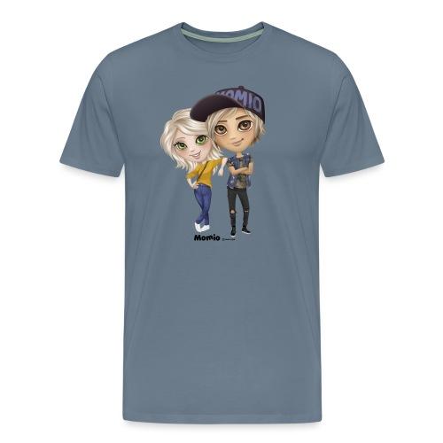 Emily & Lucas - Premium T-skjorte for menn
