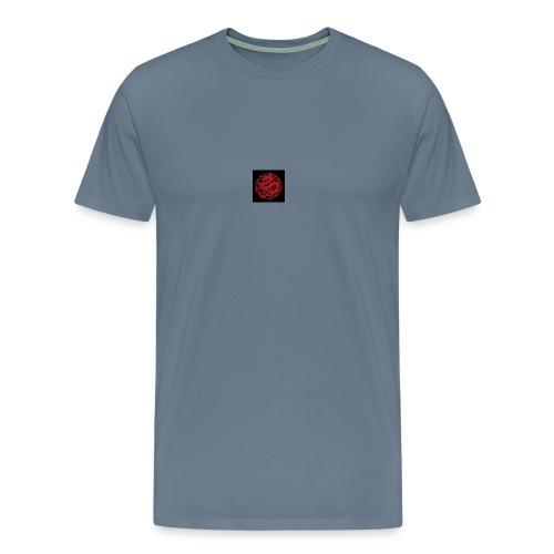 kinesisk drage - Premium T-skjorte for menn