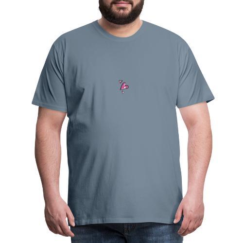 CUORI FRONTE - Maglietta Premium da uomo