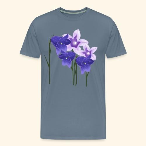 Glockenblumen, Blumen - Männer Premium T-Shirt