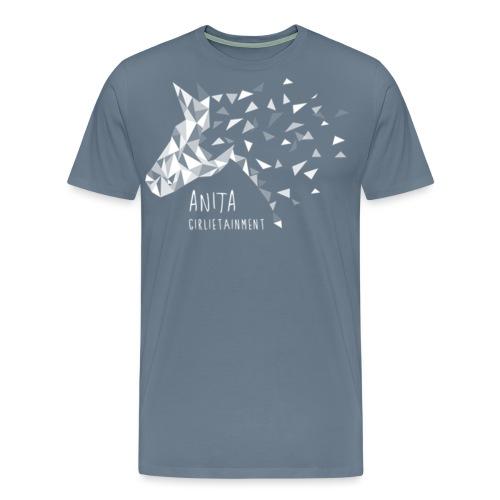 Anita Girlietainment Weiß - Männer Premium T-Shirt