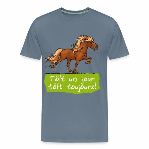 Cheval islandais tölt - T-shirt Premium Homme