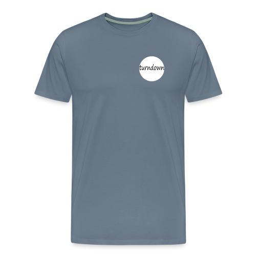 Turndown - Herre premium T-shirt
