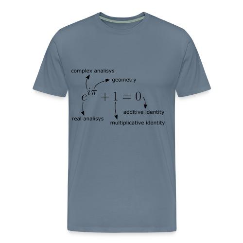 Euler Identity T-Shirt - Men's Premium T-Shirt