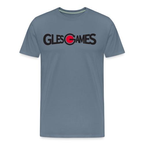 Glesgames Dot Logo High rez no background png - Men's Premium T-Shirt