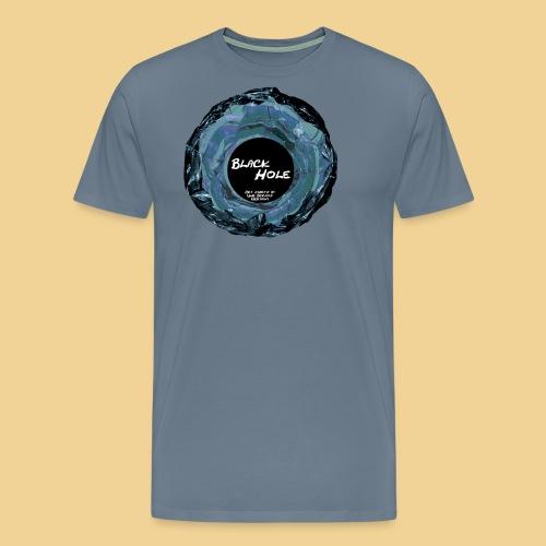 blackholeOHNEblue - Männer Premium T-Shirt