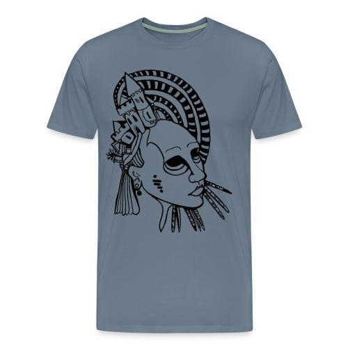 castleface (1) - Men's Premium T-Shirt