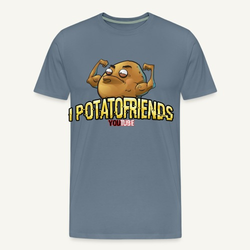 I-POTATOFRIENDS - Maglietta Premium da uomo