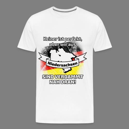 Perfekt Niedersachsen - Männer Premium T-Shirt
