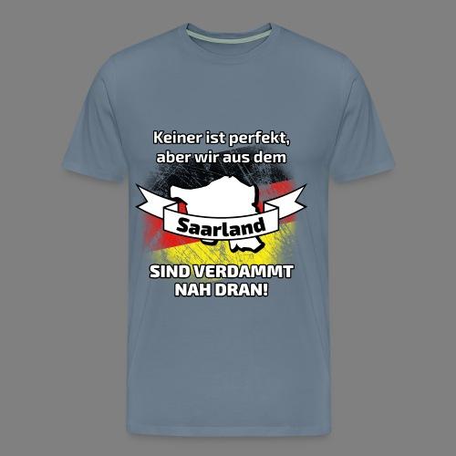 Perfekt Saarland - Männer Premium T-Shirt