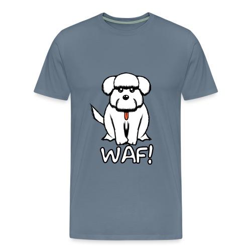Puppy waf! - Camiseta premium hombre