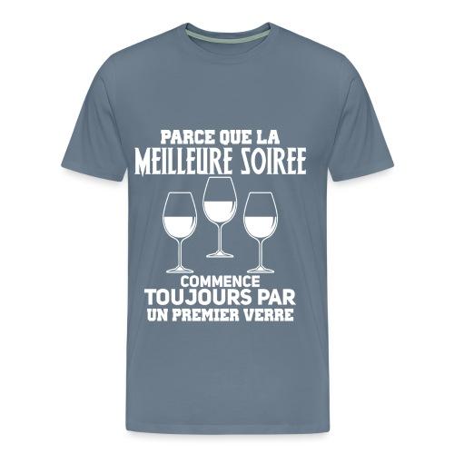 La meilleure soirée - T-shirt Premium Homme