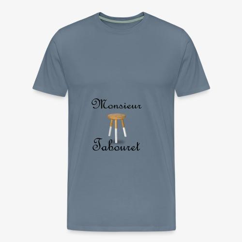 Monsieur Tabouret (Noir) - T-shirt Premium Homme