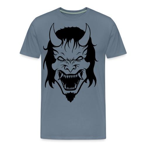 Hannya Demon - Männer Premium T-Shirt