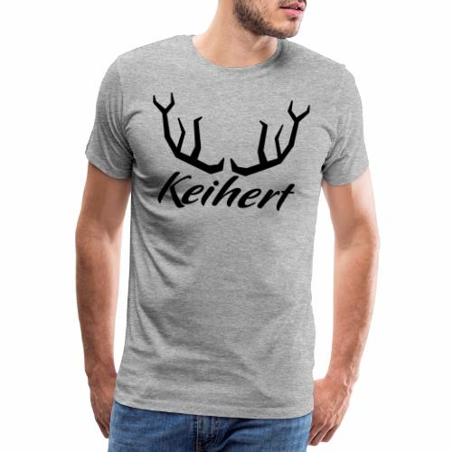 Keihert gaan - Mannen Premium T-shirt