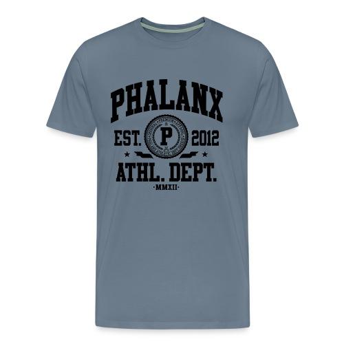 Phalanx 1 black - Männer Premium T-Shirt