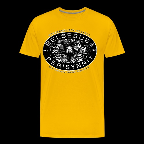 Belsebub&Perisynnit - Miesten premium t-paita