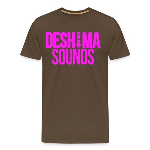 Fuchsia - Mannen Premium T-shirt