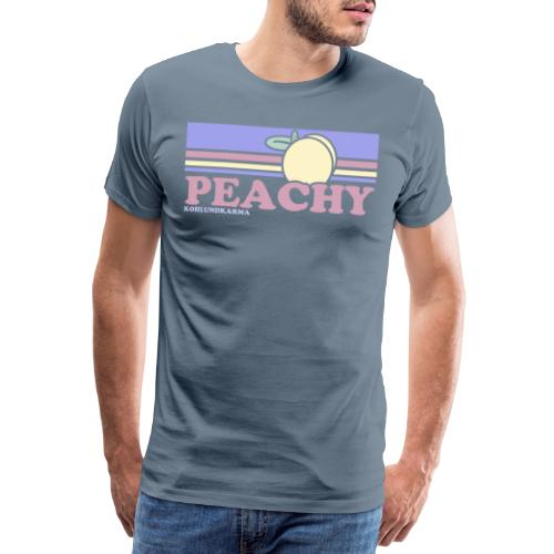 PEACHY 80 - Männer Premium T-Shirt