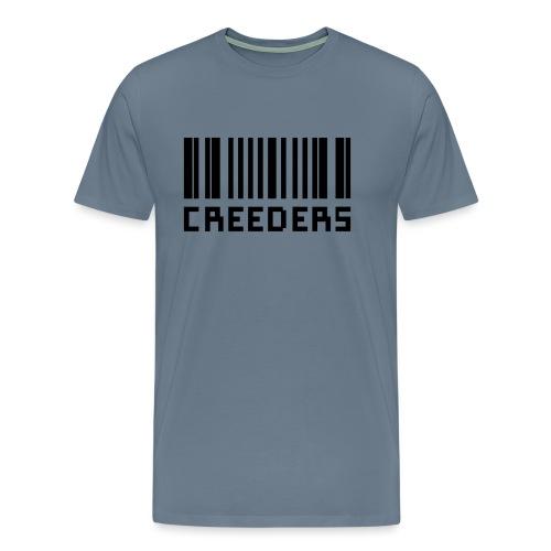 Creeders code barre - T-shirt Premium Homme