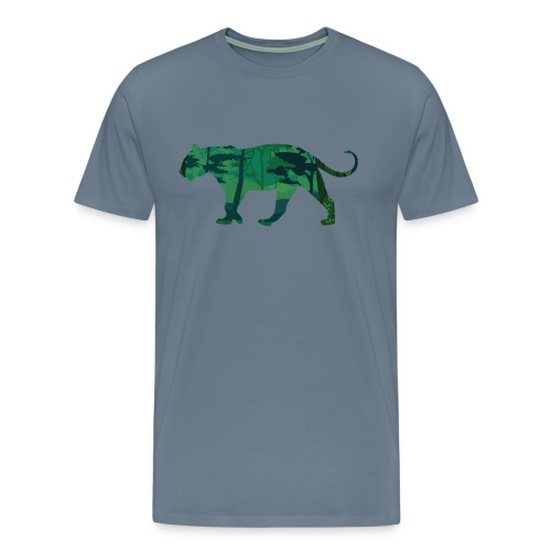 Tiger in the jungle... - T-shirt Premium Homme