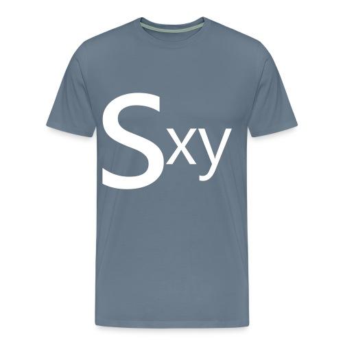 sxy - Premium-T-shirt herr