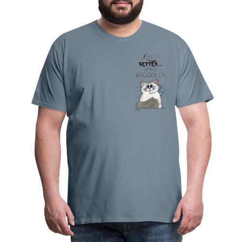 Ragdoll - Maglietta Premium da uomo